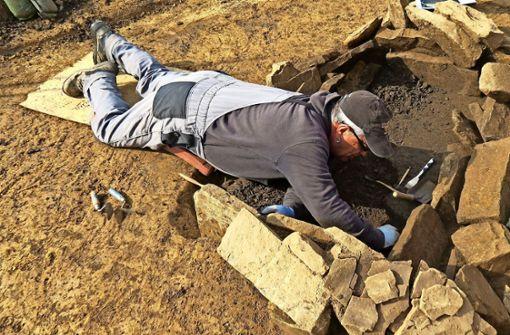 Skelette sind vermutlich aus der Bronzezeit
