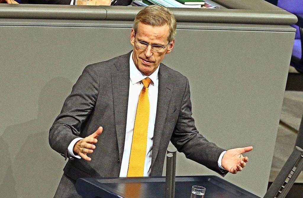 In einem Jahr  macht  Binninger  in Berlin Schluss: Die CDU verliere einen exzellenten Parlamentarier, sagen  nicht nur Parteifreunde. Foto: dpa