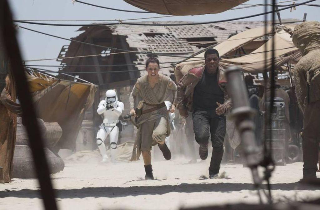Der siebte Teil der Star-Wars-Filme: Das Erwachen der Macht. Foto: Walt Disney Studios