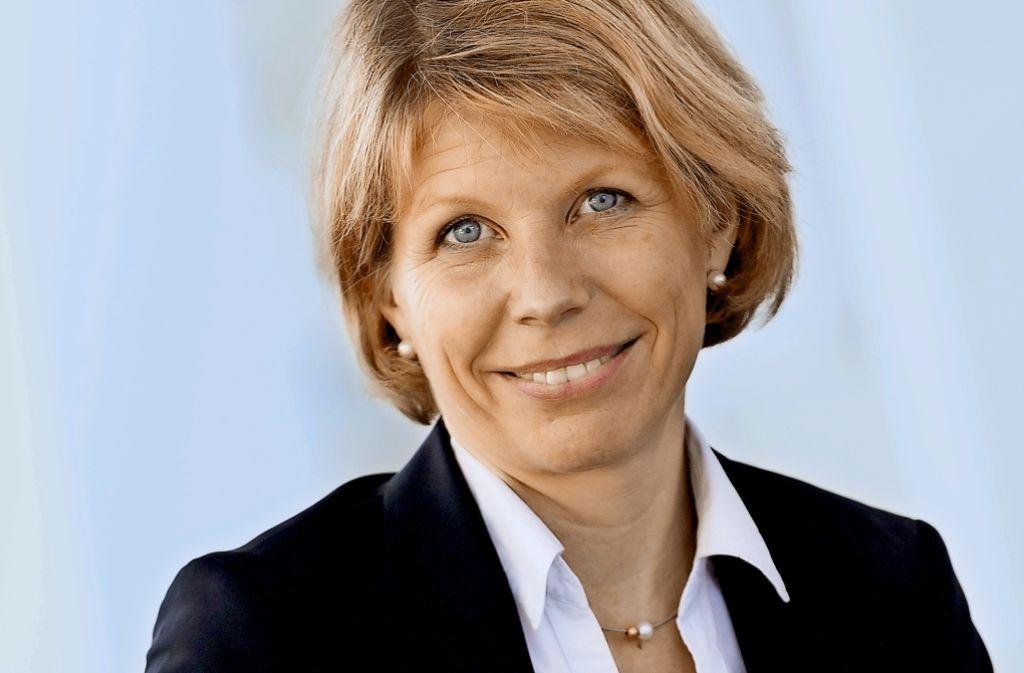 Anke Kleinschmit will den Gründergeist in der Region Stuttgart fördern. Foto: Daimler
