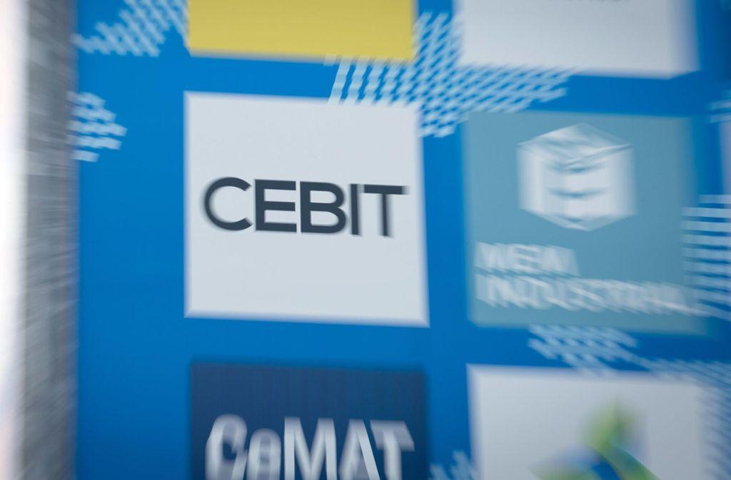 Die Cebit hat erstmals Facebook als Aussteller gewonnen. Foto: dpa
