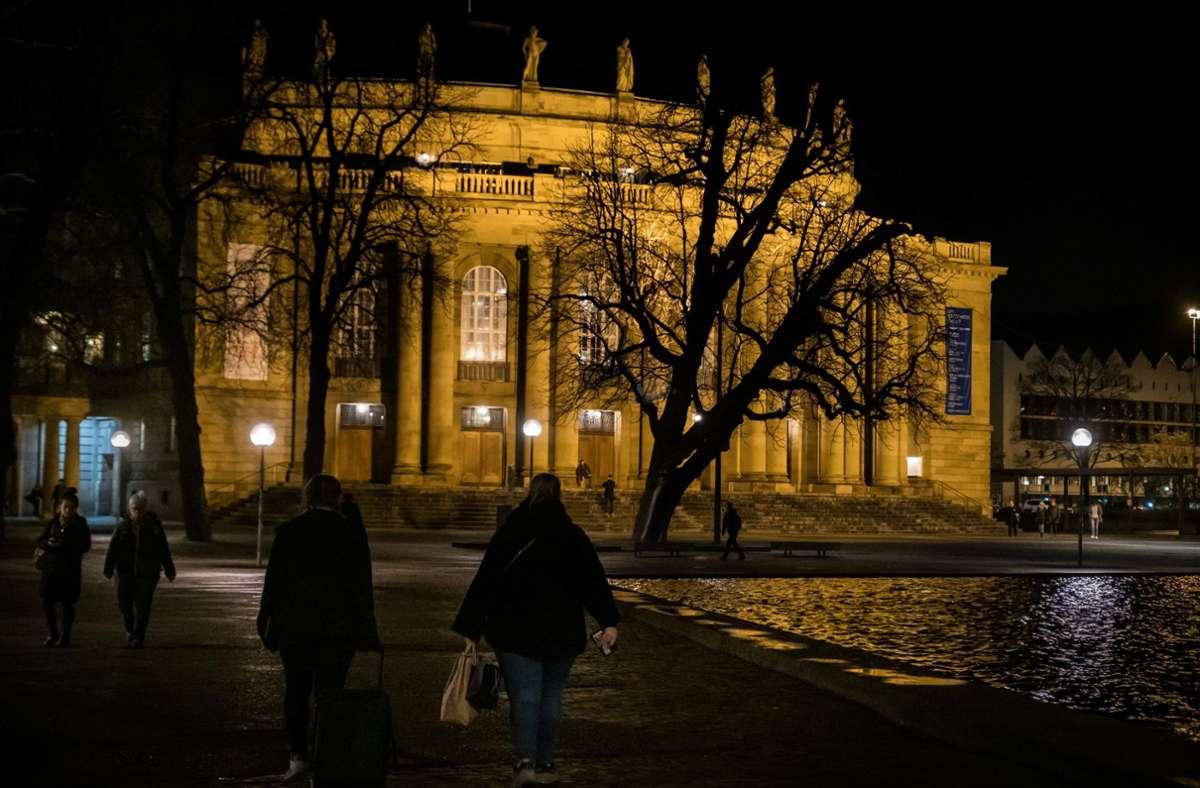Oper und Schauspielhaus in Stuttgart bleiben geschlossen. Foto: Lichtgut