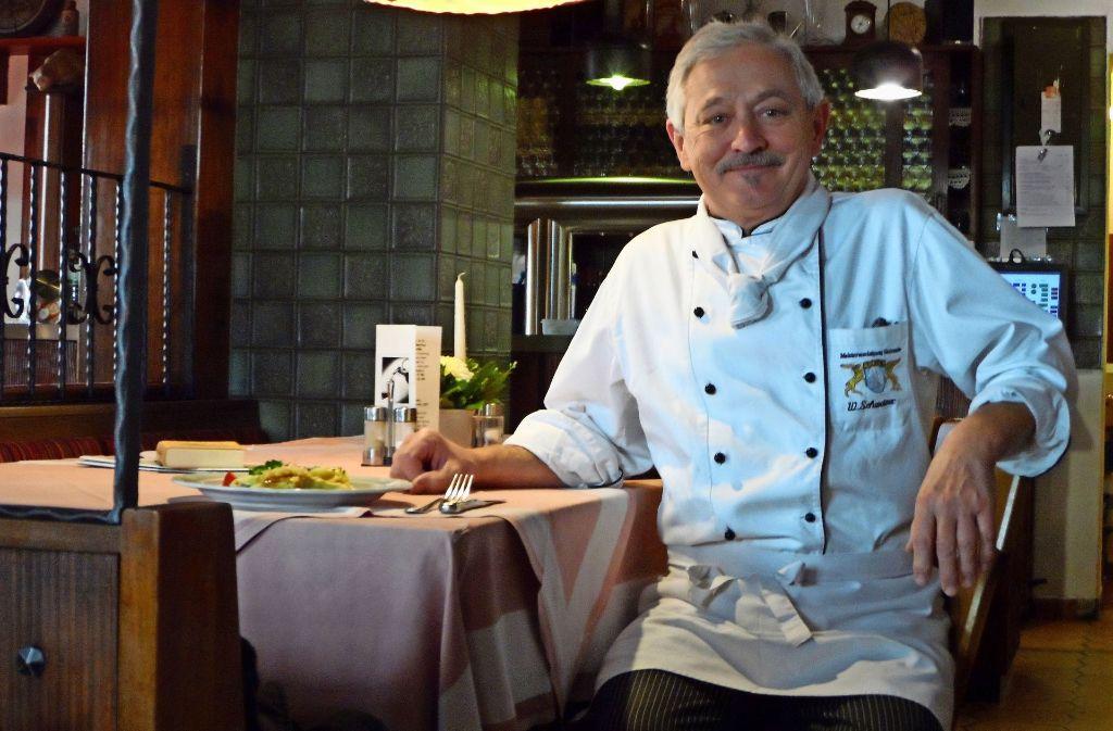 Seit mittlerweile 27 Jahren betreibt Walter Schweizer  das Hotel-Restaurant Lindenhof in Möhringen. Foto: Alale Sarshar Fard