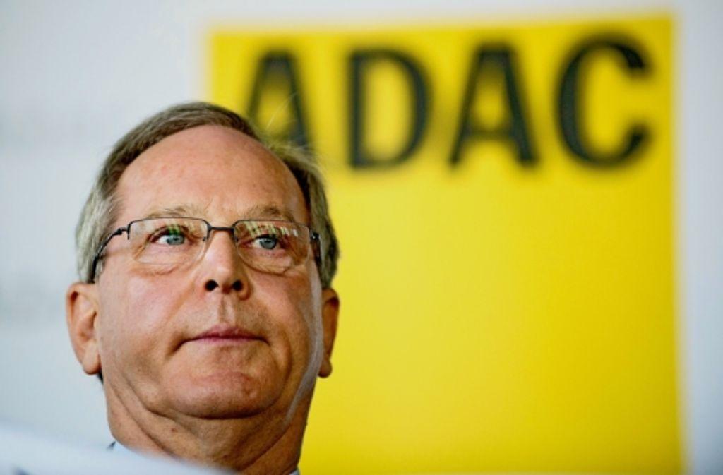 Der ADAC-Präsident Meyer sieht sich als Garant für die angedachten Reformen. Foto: dpa