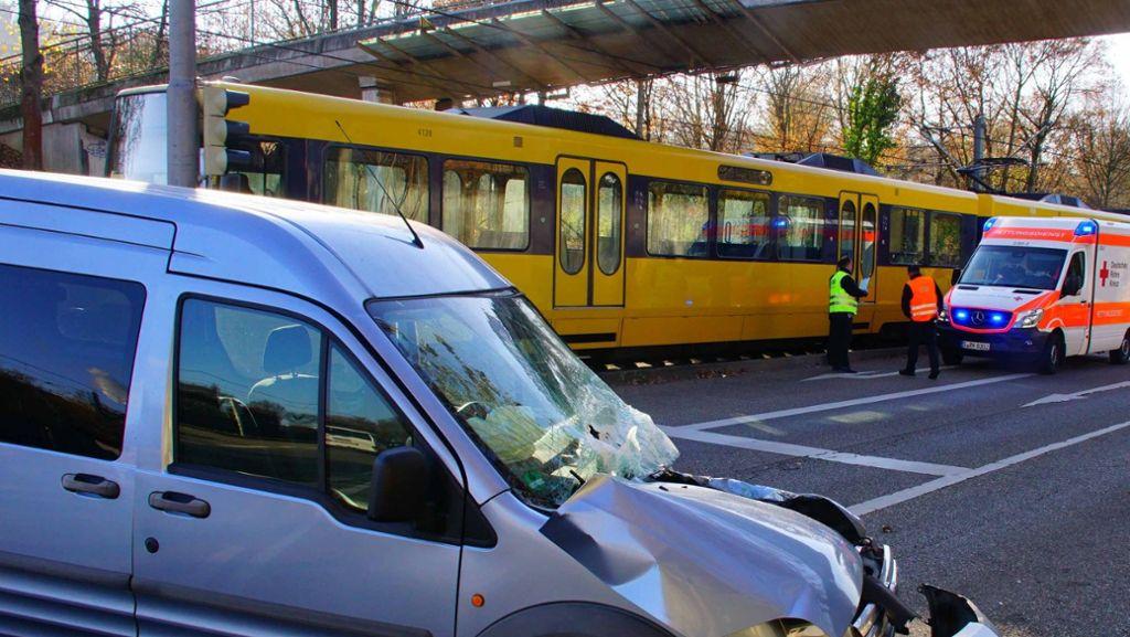 Die Zahl der Stadtbahnunfälle steigt weiter