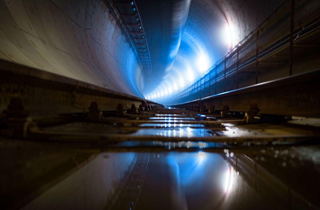 Bis Züge    im Fildertunnel rollen, wird noch einige Zeit vergehen. Foto:Lichtgut/Achim Zweygarth Foto: