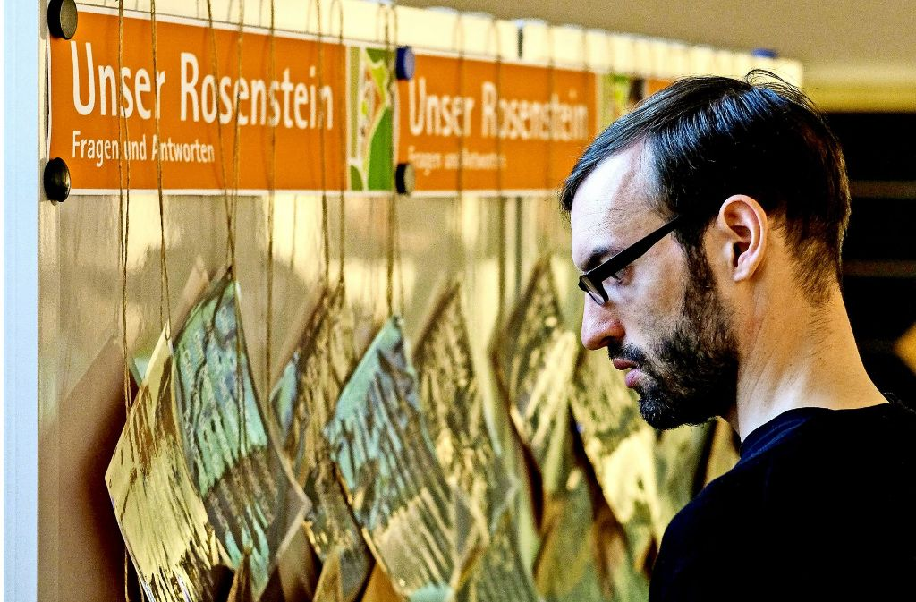 Bei der Bürgerbeteiligung zum geplanten Rosensteinquartier hielt sich der Andrang der Teilnehmer meist in Grenzen. Foto: Lichtgut/Leif Piechowski
