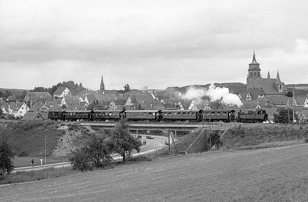 Die historische Schwarzwaldbahn. Foto: Burkhard Wollny