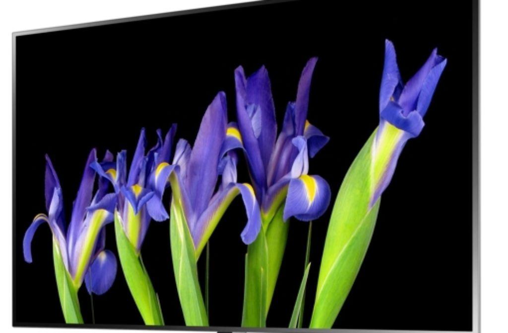 Ein Fernsehgerät mit OLED-Bildschirm. Foto: dpa