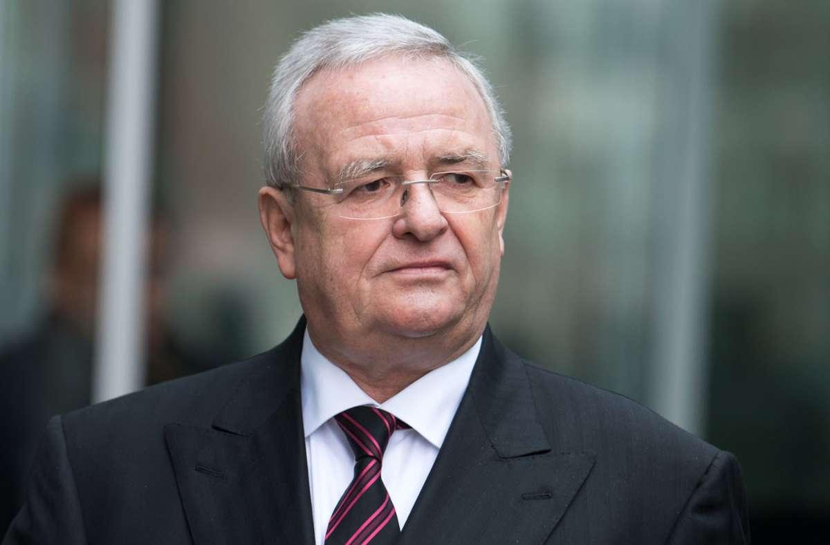 Martin Winterkorn muss persönlich 11,2 Millionen Euro Entschädigungszahlung übernehmen. (Archivbild) Foto: dpa/Bernd von Jutrczenka