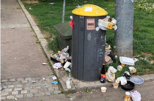 Klagen über wilden Müll nehmen zu