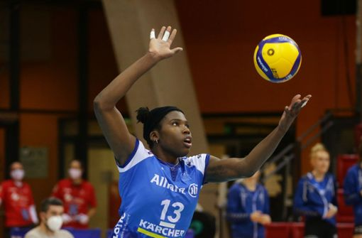 Starspielerin Krystal Rivers verlängert bei Volleyball-Bundesligist