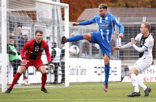 Kickers-Stürmer nicht nur auf dem Platz in Topform