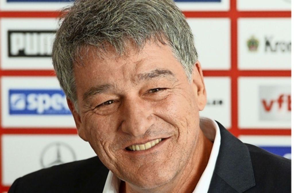 VfB-Präsident Bernd Wahler Foto: dpa