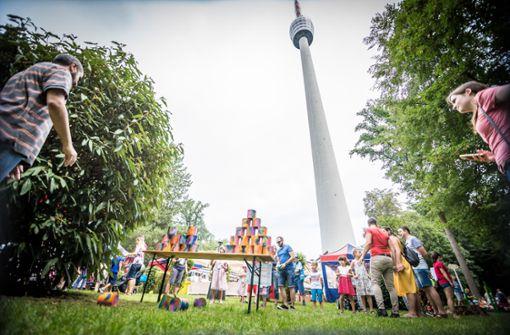 Familienfest lockt zahlreiche Menschen an den Fernsehturm