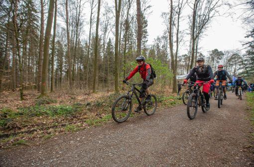 Die Mountainbiker erobern die Wälder