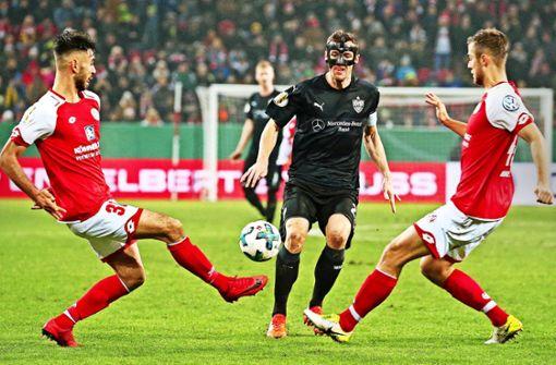 Jürgen Kramny sieht den VfB im Vorteil