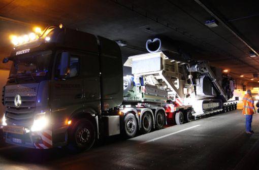 Kappelbergtunnel nach Unfall in Richtung Stuttgart gesperrt