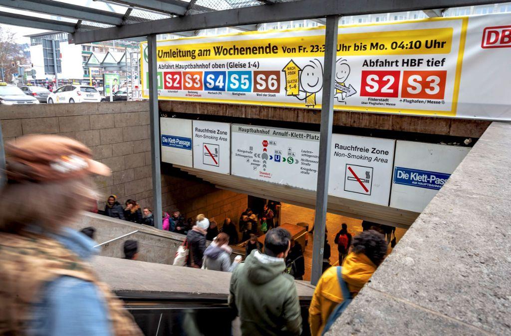 Umleitungen bei der S-Bahn sind nichts ungewöhnliches – zuletzt gab es sie Anfang des Jahres im großen Stil. Foto: Lichtgut/Julian Rettig