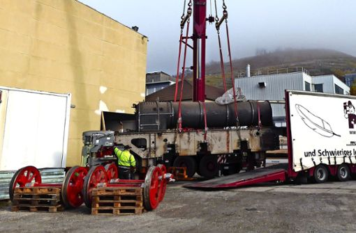Neue Heimat für alte Dampflok