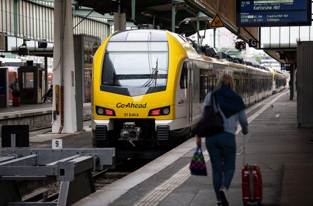Ging mit neuen Zügen an den Start, hatte aber Probleme: Bahnbetreiber Go-Ahead Foto: dpa