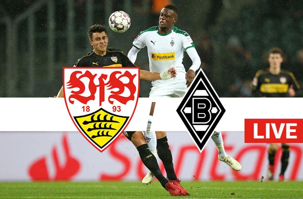 Erfolg für den VfB Stuttgart gegen Borussia Mönchengladbach. Foto: Pressefoto Baumann