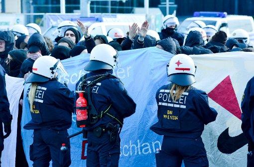 600 Festnahmen bei Demonstrationen