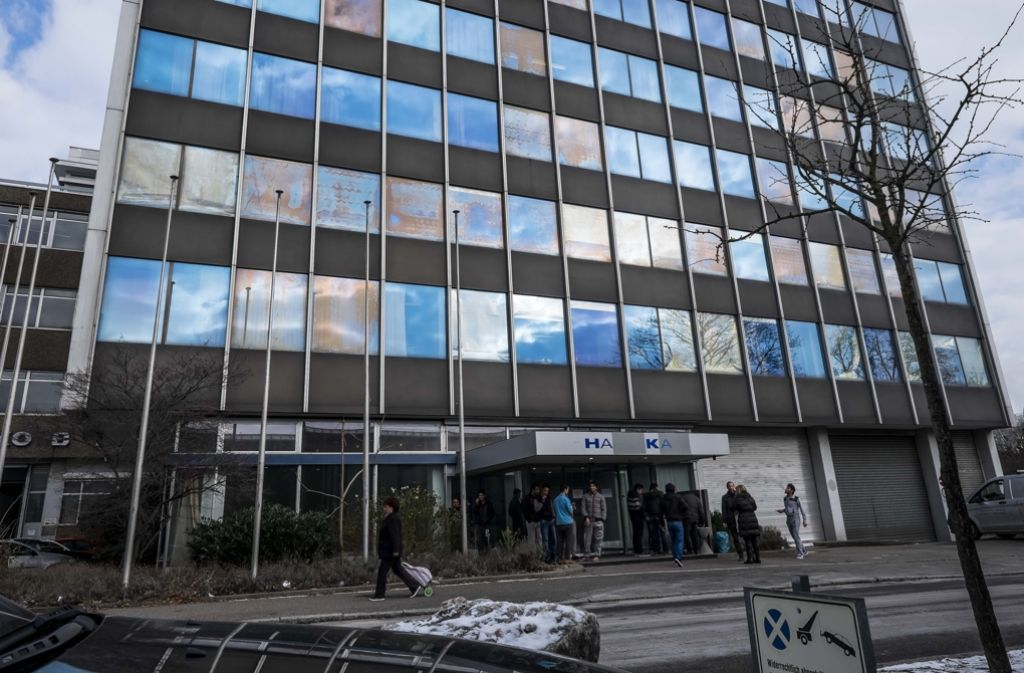 Eine der vielen Flüchtlingsunterkünfte in Stuttgart Foto: Lichtgut/Max Kovalenko