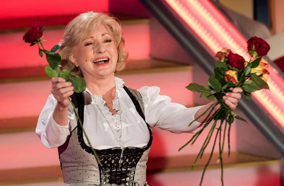 Fünf Jahrzehnte ein Superstar der deutschen Volksmusikszene: Margot Hellwig Foto: dpa/Andreas Lander