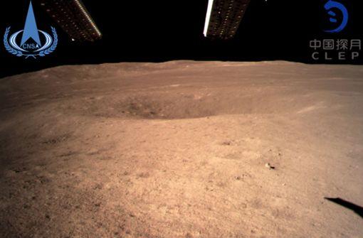 Erste Landung auf der Mond-Rückseite geglückt