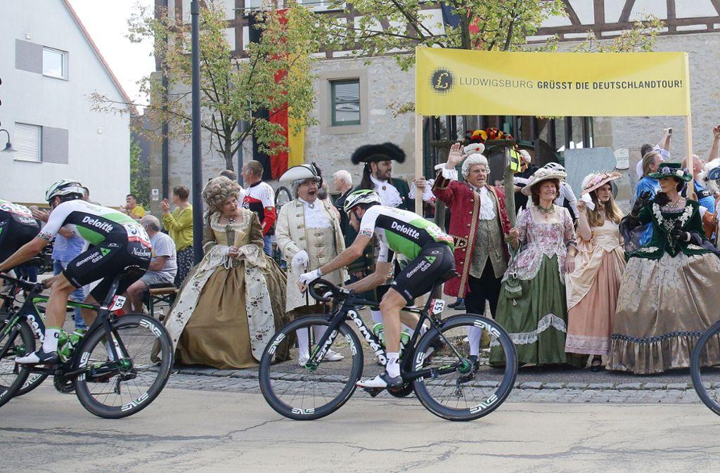 Nicht nur in Stuttgart begeisterte die Deutschlandtour die Fans. Foto: Pressefoto Baumann