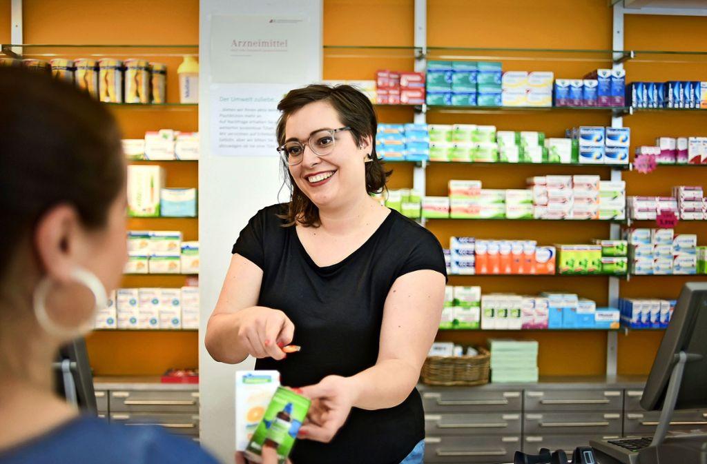Apothekerin Julia Großer begrüßt das Urteil zu den Geschenken. Foto: Lg