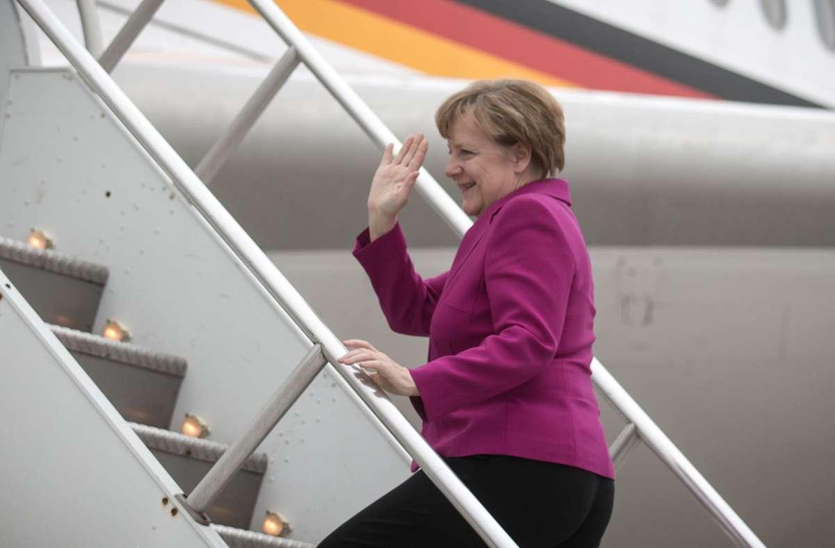 Bundeskanzlerin Angela Merkel. (Archivbild) Foto: dpa/Michael Kappeler