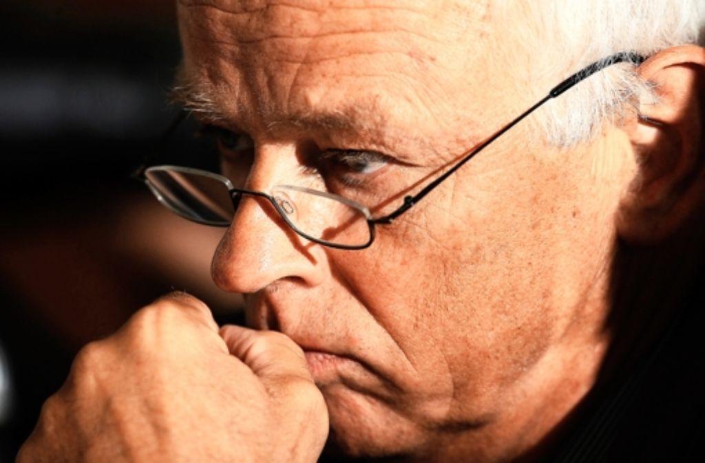 Dickhuth – hier ein Foto von 2009 – droht auch der Verlust des Beamtenstatus. Foto: