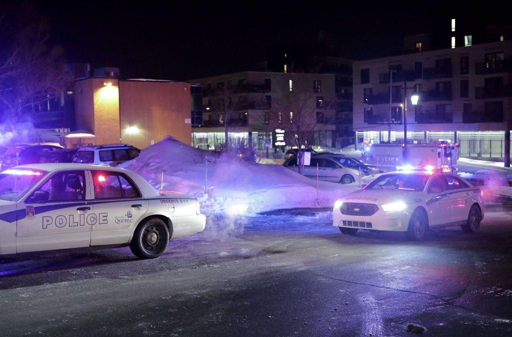In der kanadischen Stadt Quebec sind bei einem Terroranschlag mehrere Menschen ums Leben gekommen. Foto: The Canadian Press/AP
