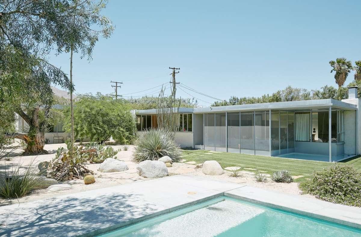 Richard Neutra: Miller House in Palm Springs, erbaut 1936/37. Foto: (c) David Schreyer/Park Books