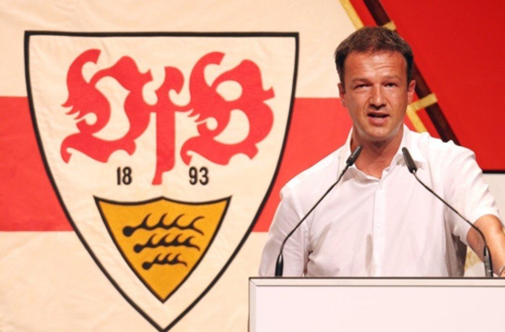 Der VfB Stuttgart legt einen Fehlstart in die neue Bundesliga-Saison hin. Dies bedeutet das Aus für Sportvorstand Fredi Bobic. Foto: Pressefoto Baumann