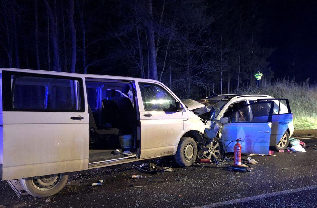 Bei dem Unfall kamen eine Mutter und zwei ihrer Kinder ums Leben. Foto: dpa/Alexander Auer