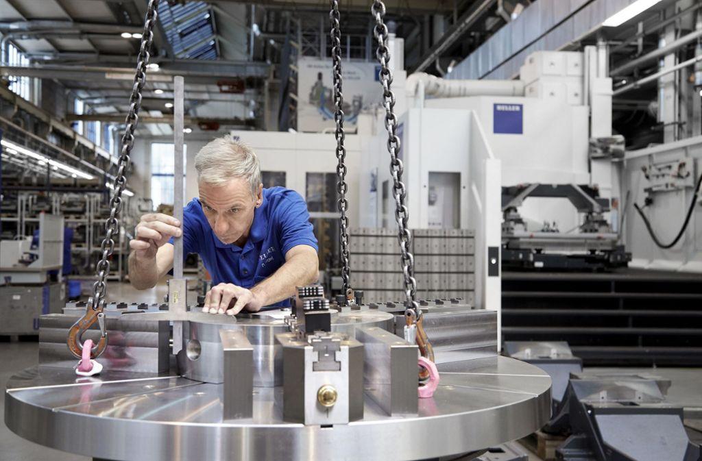Beim Werkzeugmaschinenhersteller Heller in Nürtingen boomt das Geschäft. Foto: Heller