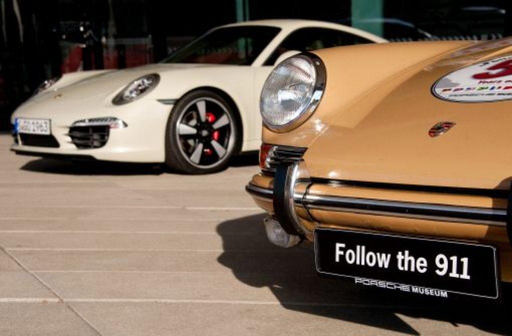 Platz 1: Der Stuttgarter Sportwagenbauer Porsche. Foto: dpa