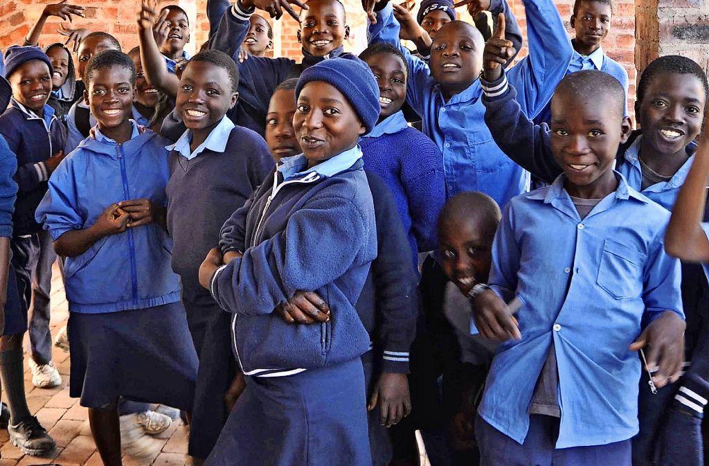 Die Schülerinnen und Schüler Foto: Kristina Egbers