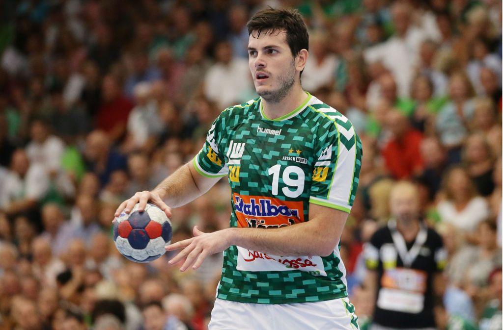 Auch Ivan Sliskovic konnte die Niederlage gegen SG Flensburg-Handewitt nicht verhindern. Foto: Pressefoto Baumann