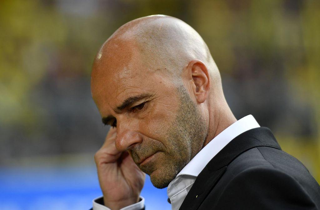 Peter Bosz ist nicht mehr Trainer von Borussia Dortmund. Foto: AP