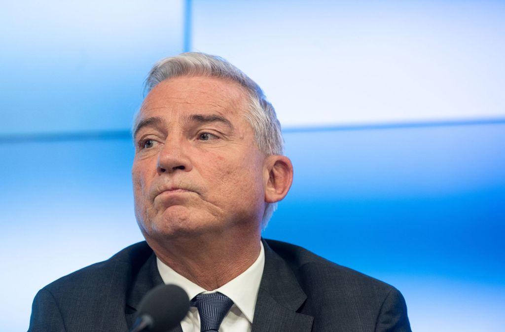 Unter Druck: Innenminister Thomas Strobl Foto: dpa