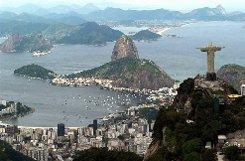 Rio vor Olympia - ein prächtige Kulisse