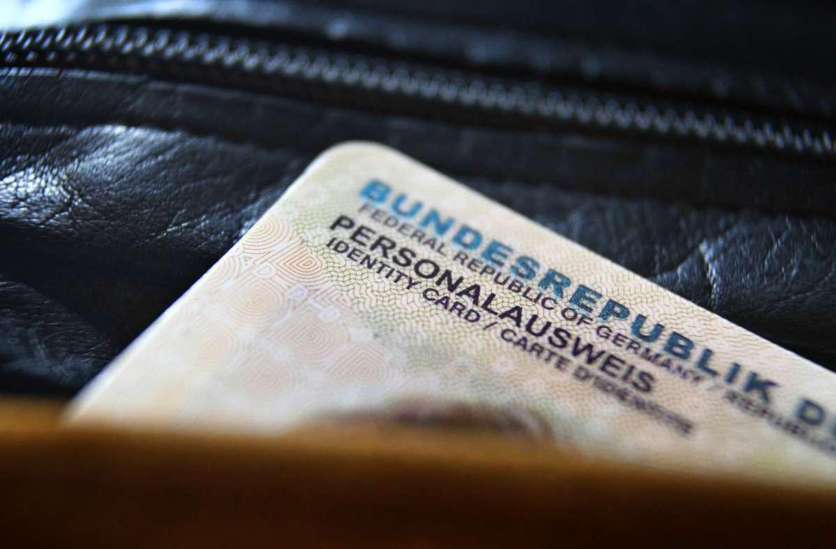 Fingerabdrücke Personalausweis
