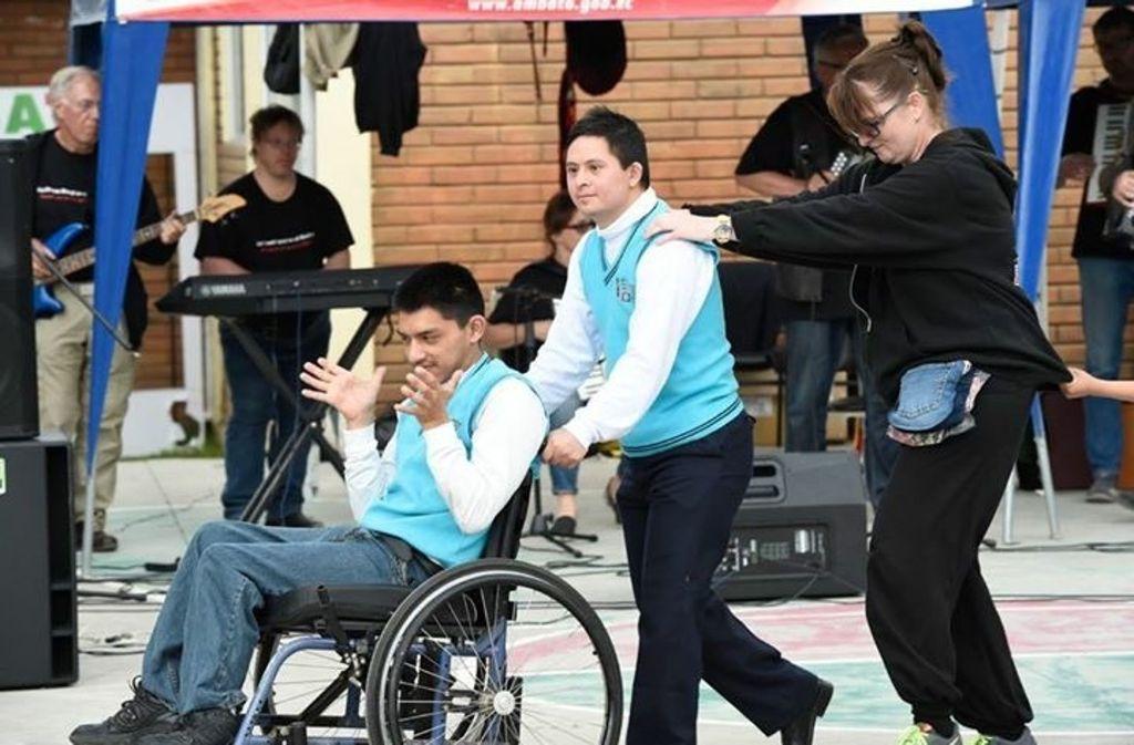 Egal an welcher Schule: die Schüler gingen auf die Brenz Band ab Foto: Reiner Pfisterer