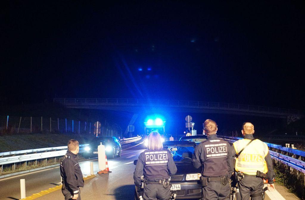 Bei einer Geschwindigkeitskontrolle wurde der VW-Fahrer auffällig. Foto: /SDMG / Woelfl