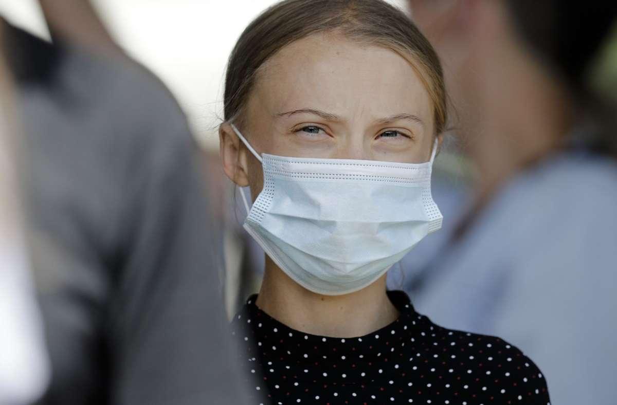 Greta Thunberg geht wieder zur Schule. Foto: AP/Markus Schreiber