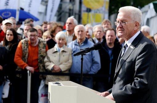 Kretschmann hat Bürgerfest eröffnet